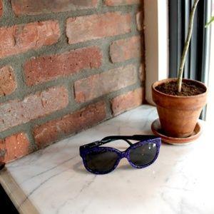 stella mccartney | blue tortoiseshell sunglasses